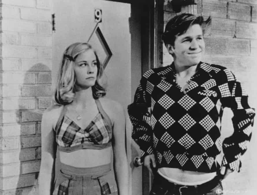 Cybil Shepherd and Jeff Bridges in The Last Picture Show, a 1971 film adaptation of McMurtry's novel.