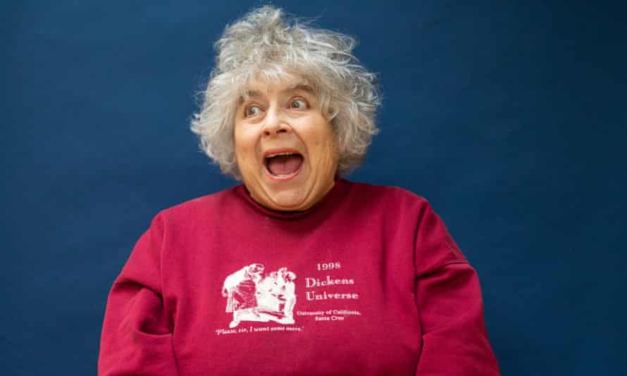 Miriam Margolyes, host of Growing Old Disgracefully.