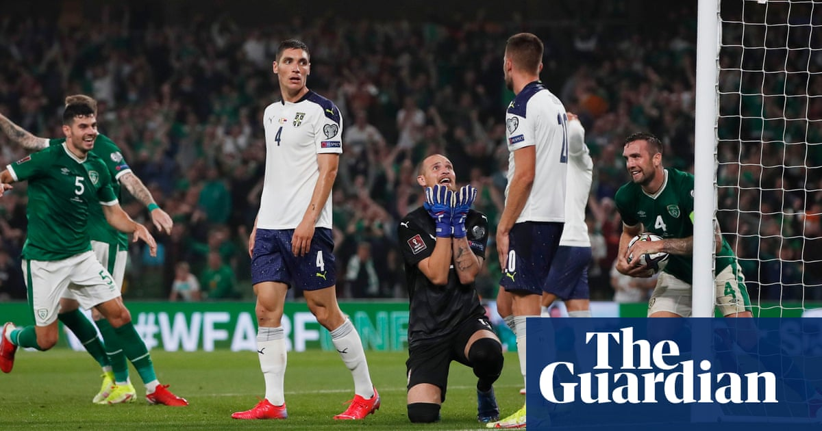 Stephen Kenny earns respite as Ireland draw with Serbia after own goal