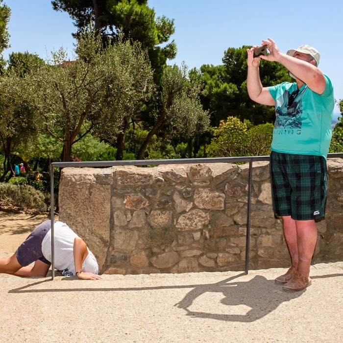 927b5eb5f0751 Selfies and sweat stains: bad holidays and bored tourists – in pictures |  Art and design | The Guardian