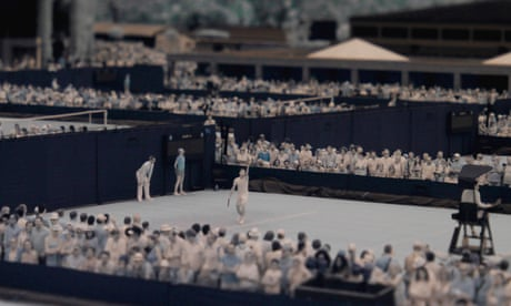 Wimbledon 2017: tennis in infrared - in pictures