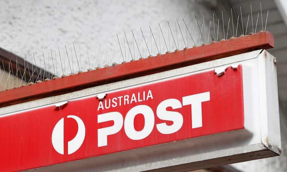 Australia post sign