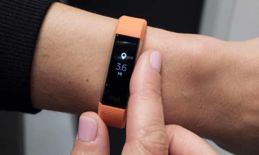 Fitbit's Alta HR device