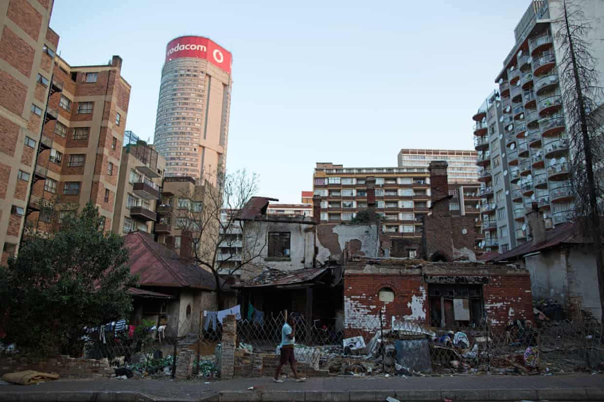 Jason Burke will be reporting on the tensions of gentrification in Johannesburg, South Africa.