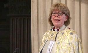 The bishop of London, Sarah Mullally.