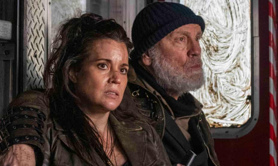Alternate reality … Jenna Leigh Green and John Malkovich in The Survivalist.