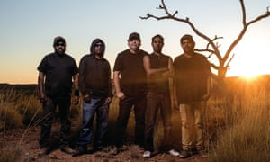 Southeast Desert Metal from Santa Teresa, a small Aboriginal community in central Australia, call themselves 'the most isolated metal band in the world'.
