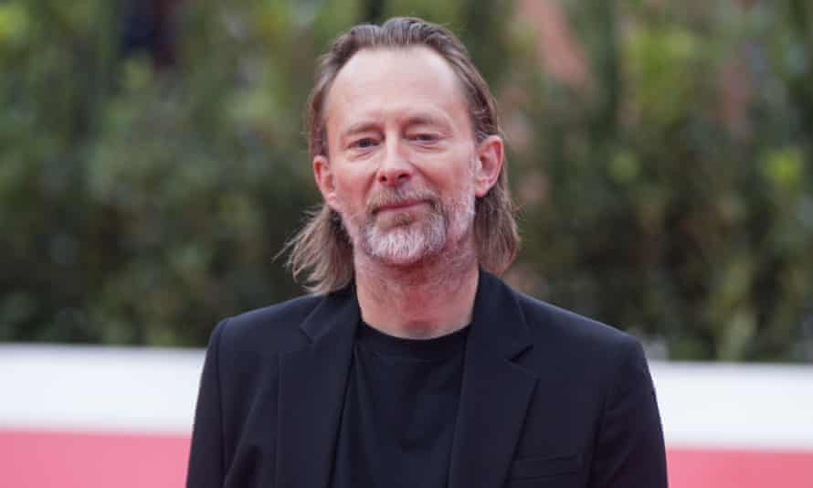 'Spineless' ... Thom Yorke on the UK government's handling of the EU touring situation.