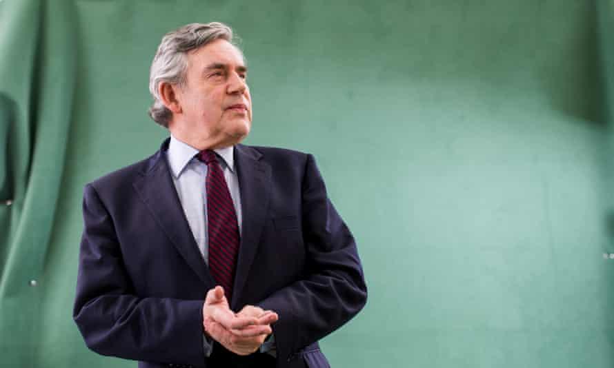 Gordon Brown, former uk prime minister