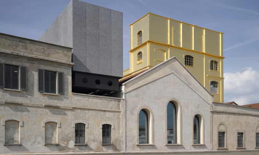 Fondazione Prada campus in Milan.