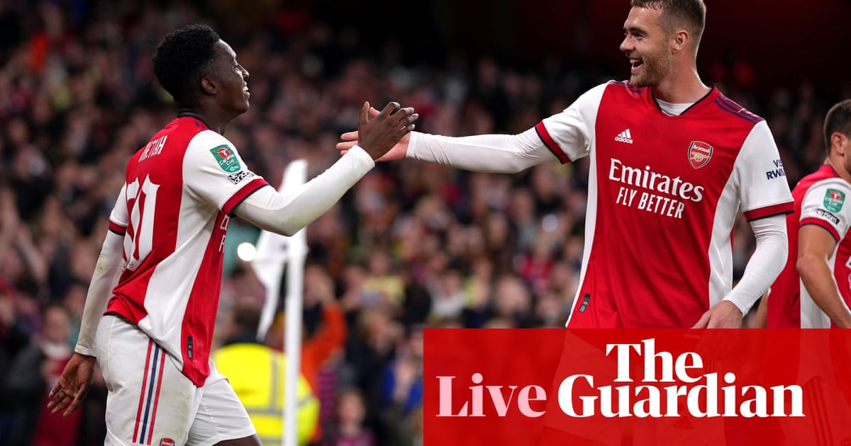 Arsenal 2-0 Leeds United: Carabao Cup fourth round – as it happened