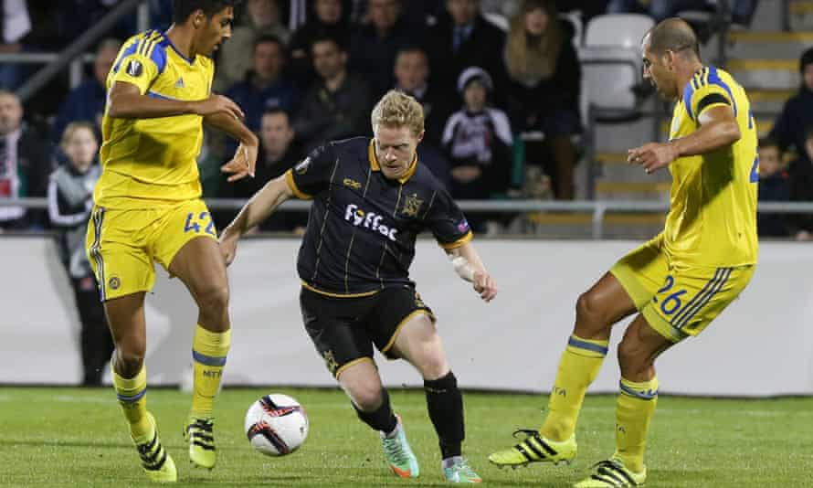 Dundalk's Daryl Horgan, centre, would be a popular choice for the Republic of Ireland squad.