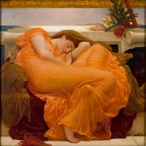 Frederic Leighton, Flaming June