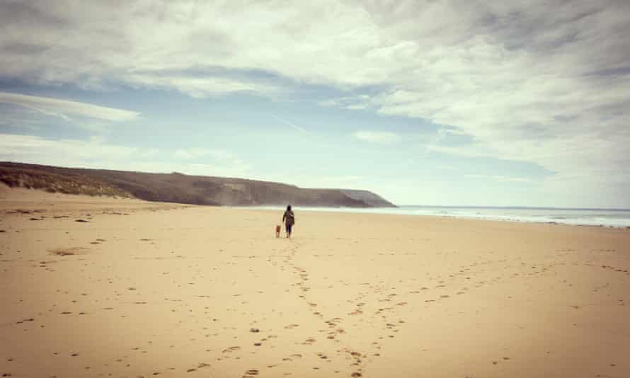 'When we go on holiday with our dogs, I find the peaceful places so much better for my peace of mind.'