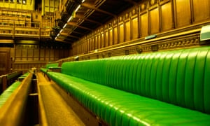 green benches in the house of commons