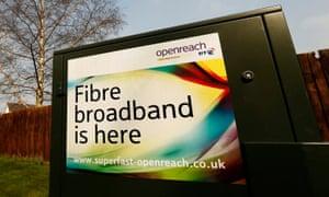 BT Openreach billboard