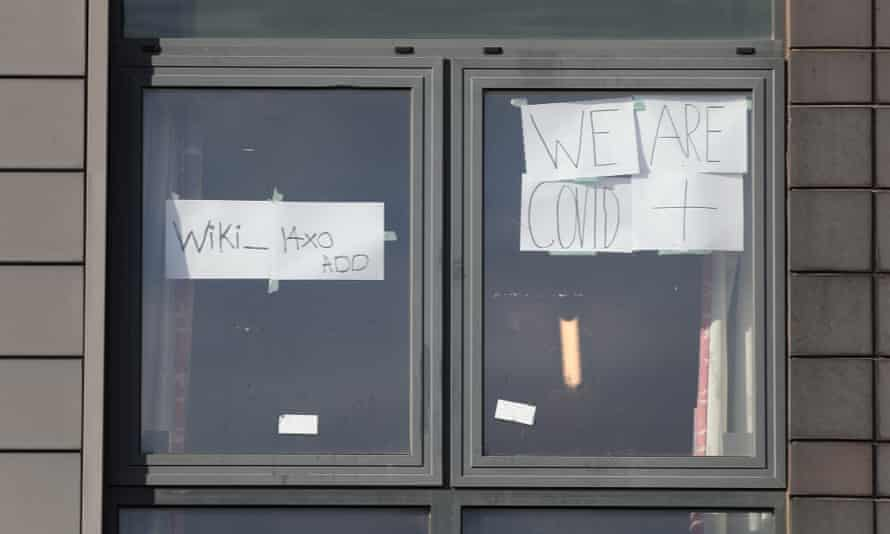 Self-isolating students at Sheffield Hallam University