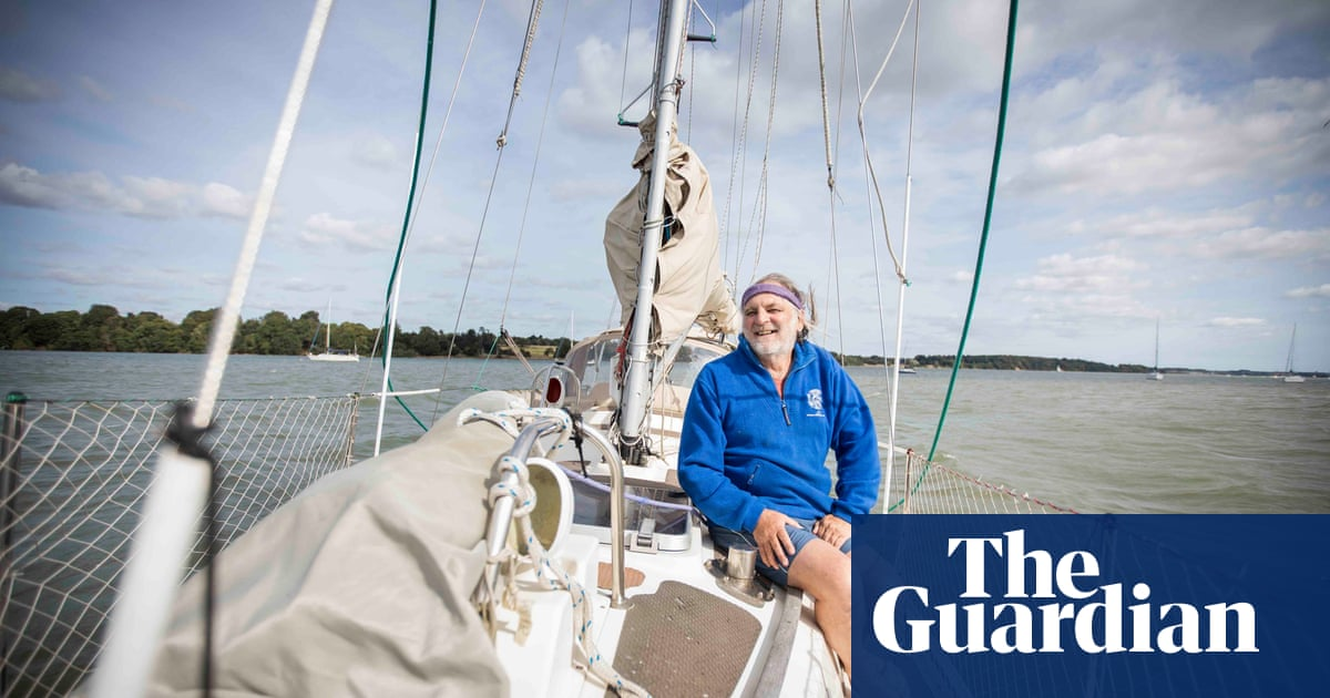 A new start after 60: 'I set sail round the world on my own at 66 – and stayed at sea for six years'