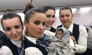 Image result for turkish flight baby