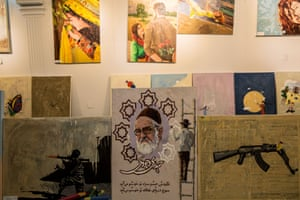 The Artlords gallery in Kabul, Afghanistan.