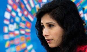 Kepala ekonom IMF, Gita Gopinath, mengatakan pada hari Selasa bahwa dana tersebut telah lama mendukung pajak minimum perusahaan global.