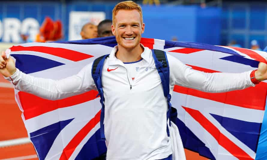 Greg Rutherford, long jumper
