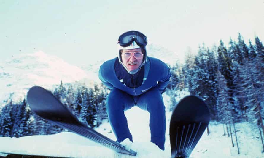 Eddie the Eagle in 1986.