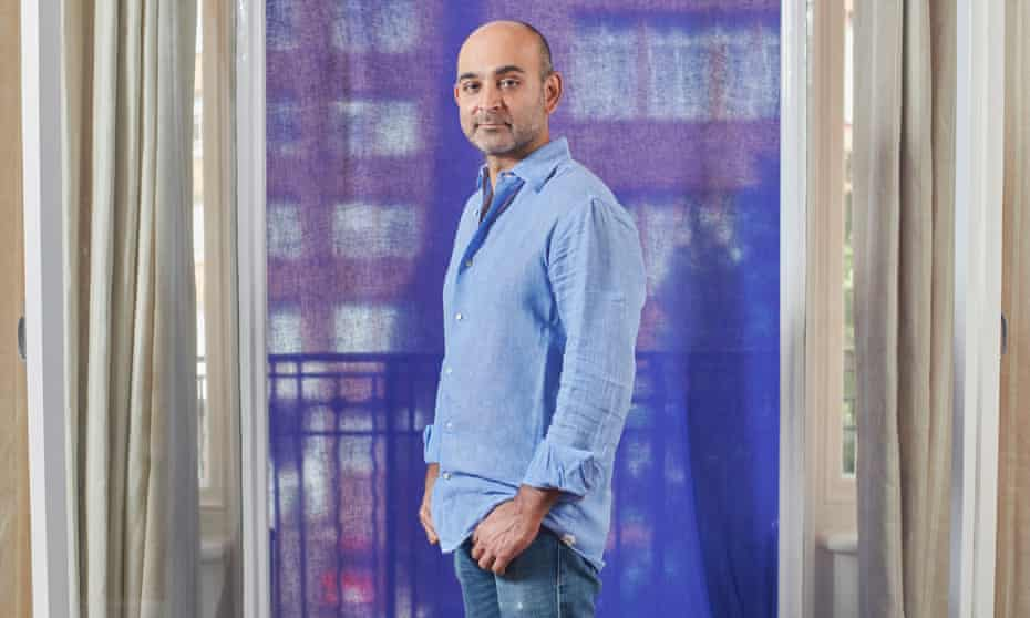 Mohsin Hamid photographed for the Observer New Review.