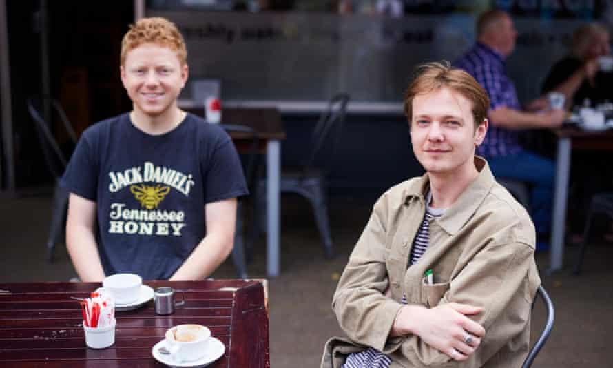 Jacob Samuels and friend