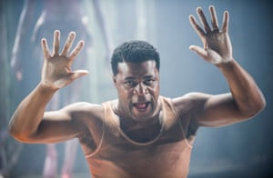 'Incarnates both thought and rage': Danny Sapani in Les Blancs at the Olivier.