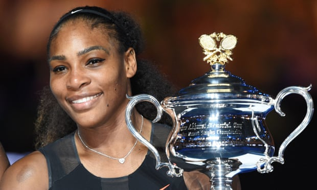Serena Williams has now been world No1 for a total of 317 weeks