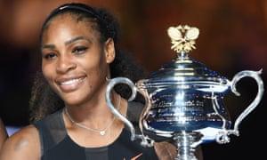 Serena Williams won the Australian Open earlier this year