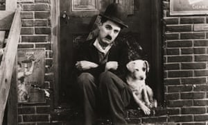 Scraps ( mixed breed) from A Dog's Life by Charlie Chaplin, 1918.