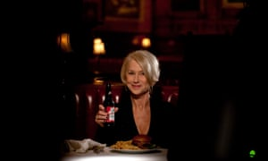 Don't be a pillock': Helen Mirren delivers a lecture about drink driving from a Budweiser spot for Super Bowl 50.