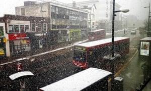 snow street Bromley