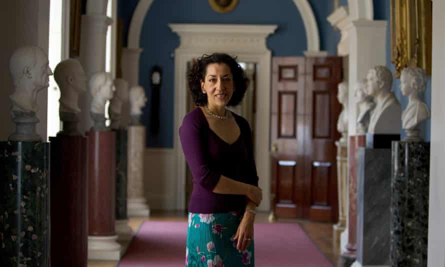 Althorp Literary FestivalNORTHAMPTON, ENGLAND - JUNE 19: Author Andrea Levy poses for a portrait at the second annual Althorp Literary Festival held at Althorp House on June 19, 2005 in Northampton, England. (Photo by David Levenson/Getty Images)
