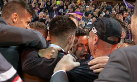 Kurz fumes over FFA's 'disgusting' A-League finals decision as Perth win thriller
