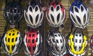 Bike safety helmets