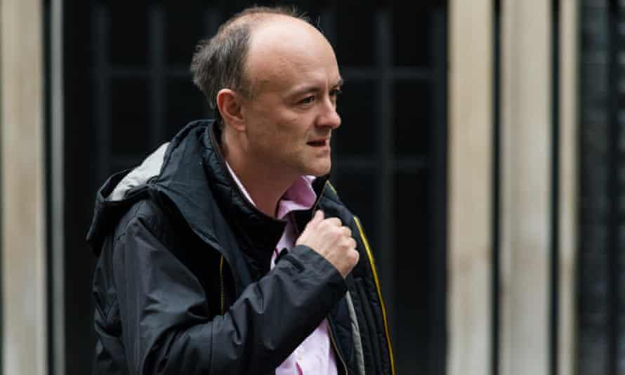 Dominic Cummings in Downing Street