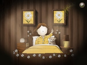 A still from Daisy Chain, a short animated film.