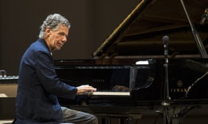Chick Corea at a concert in Moscow in 2017.
