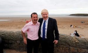 Alun Cairns with Boris Johnson