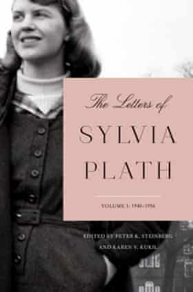 The US cover of The Letters of Sylvia Plath.