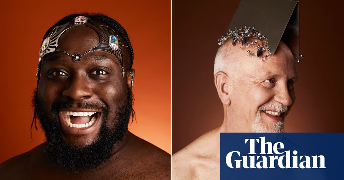 'There is a taboo': Rankin photos tackle baldness head on