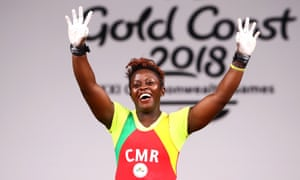 Weightlifter Arcangeline Fouodji Sonkbou is one of Cameroonian athletes to have been reported missing.