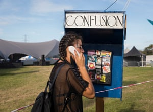Silver Hayes field at Glastonbury Festival