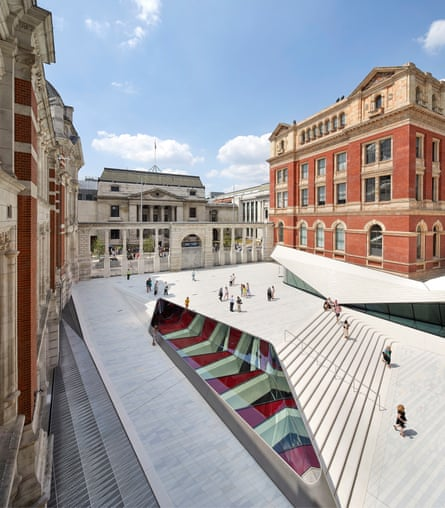 Amanda Levete's new Sackler Courtyard at the V&A