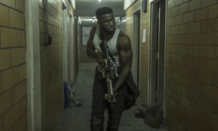 The First Purge had a 'healthy awareness of its B-movie status'.