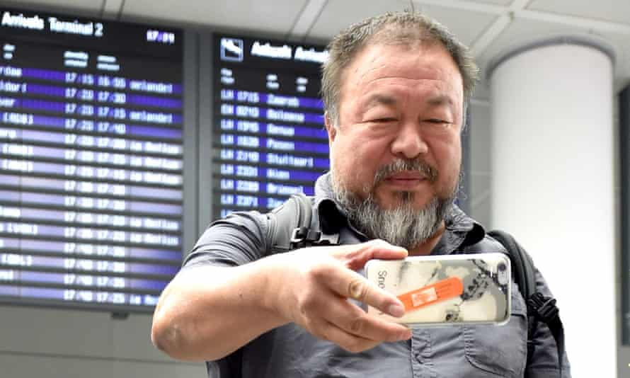 'Fortunately for him, Ai Weiwei has a profile that enabled him to put this right and backers whose outrage can make news.' Photograph: Michaela Rehle/Reuters