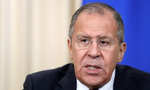Sergei Lavrov, the Russian foreign minister